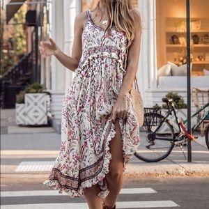 Maisie Strappy Dress Small NWT